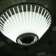 地下ヴォールト空間を照らすシャンデリア照明 - 大阪市営地下鉄御堂筋線