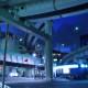 池袋高架下のチェレンコフ放射光 - 首都高速5号池袋線(サンシャイン前交差点)
